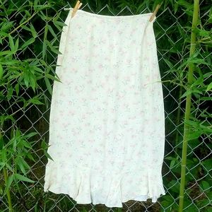 C&B pretty skirt with flounce